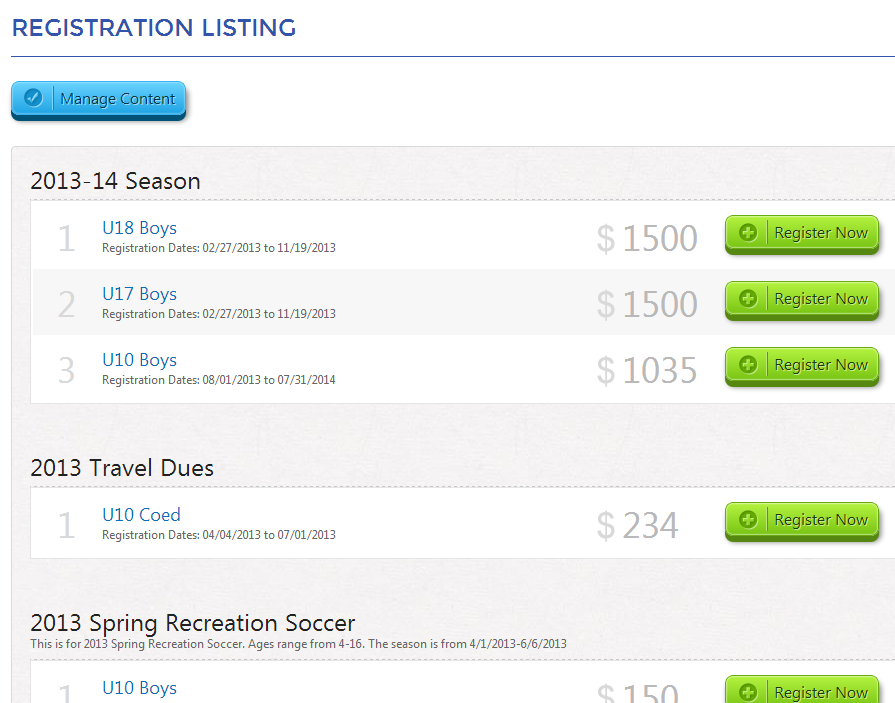 registration listing module 3