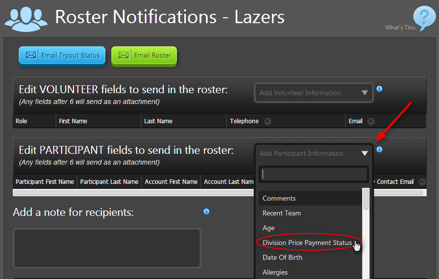 roster notifications 1