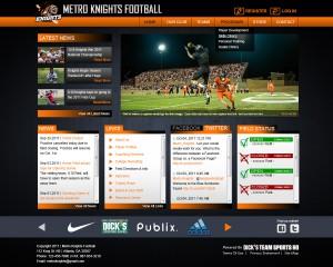 Apollo sports website theme