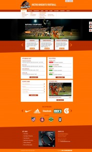 Demeter sports website template